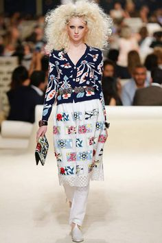 Chanel   Cruise/Resort 2015 Collection via Karl Lagerfeld   Modeled by Nastya Sten   May 13, 2014; Dubai   Style.com