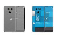 LG G6 Mobile Skin Design Mockup by VecRas on @creativemarket
