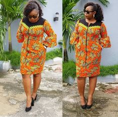 Most stylish collection of ankara short gown styles of 2019 trending today, try these short ankara gown styles Short African Dresses, Ankara Short Gown Styles, Trendy Ankara Styles, African Print Dresses, African Prints, Ankara Gowns, African Fashion Ankara, Latest African Fashion Dresses, African Print Fashion