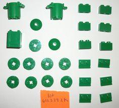 > > > $10.88 < < < #EBAY #FORSALE #LEGOCITY LEGO Green Trash Can Crate Radar Dish 92926 61780 32028 4032 4740 4204 7642 8404