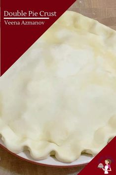 This is your basic unsweetened all-butter pie crust recipe or pate brisee dough that's rich, buttery, flaky, and tender. Today, we make a double pie crust from scratch for an apple pie #doublepiecrust #piecrust #howtopie #allbutterpiecrust #crustforpie #pastryforpie #piepastry Double Pie Crust Recipe Butter, Deep Dish Pie Recipe, Pie Dough Recipe, Pie Crust Recipes, Pie Crust From Scratch, Easy Pie Crust, Homemade Pie Crusts, Food Processor Pie Crust, Food Processor Recipes