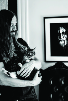 Just Some Pictures Of Metal Dudes – And Their Cats