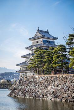 ileftmyheartintokyo:Matsumoto Castle by balbo42 on Flickr.