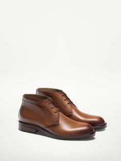 NAPPA LEATHER ANKLE BOOTS - View all - Shoes - MEN - Egypt