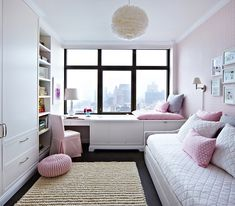 21 Attractive Girl Bedroom Ideas (Amazing Tips and Inspirations) teen girl bedroom decor - Bedroom Decoration Room Design, Bedroom Interior, Bedroom Diy, Kids Bedroom Designs, Small Bedroom Designs, Small Room Bedroom, Room Decor Bedroom, Bedroom Layouts, Kid Room Decor