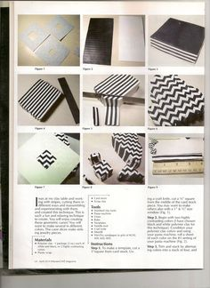 steps to geometrics  by Marilyn Davenport @ Bits of Clay