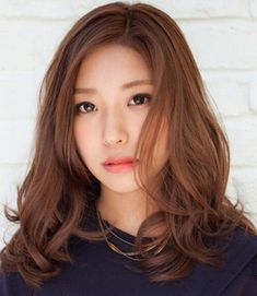 Asian Digital perm winter hairstyle - Google search More