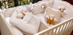 Enxoval do Bebê por Paola da Vinci | Jogo de Berço