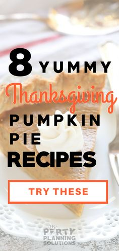 Looking for the best Thanksgiving Pumpkin Pie? These 8 yummy pumpkin pie recipes should be checked out! Fresh Pumpkin Pie Recipe, Dairy Free Pumpkin Pie, Paleo Pumpkin Pie, Easy Pumpkin Pie, Pumpkin Pie Recipes, Canned Pumpkin, Pumpkin Pie Spice, Thanksgiving Celebration, Desserts Menu