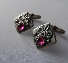 Antique Jewelry, Men's Jewelry, Handmade Jewelry, Jewellery, Business Formal Women, Antique Cufflinks, Russian Jewelry, Mens Silver Jewelry, Vintage Silver