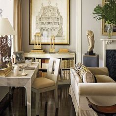 If I ever design a neutral room(?), this one's an inspiration