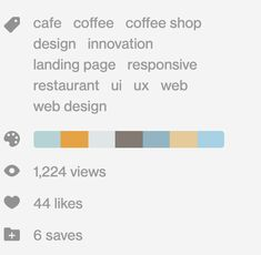 Coffee Shop, Design Innovation, Web Design, Website, Coffee Shops, Loft Cafe, Design Web, Website Designs, Site Design