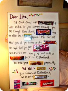 candy bar sayings for sports
