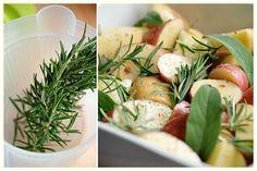 Herb Roasted Potatoes « Kayotic Kitchen...seriously yummy!