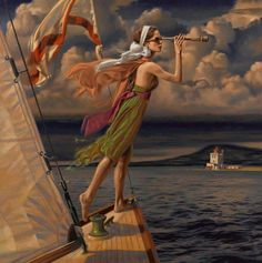 """Let your dreams set sail"", by Peregrine Heathcote"