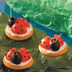 Lady bug savories