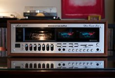 Marantz 5220 Cassette Deck. Marantz's penchant for handsome design even carried over to tape decks.