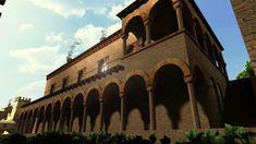 Ricostruzione 3D del Palazzo Comunale, Forlì XIV secolo  - 3D reconstruction of the Towers Hall, Forlì 14th century