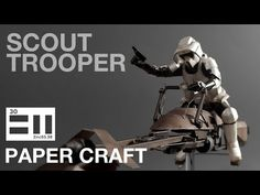 undefined Starwars, Printer, Darth Vader, Miniatures, Youtube, Movie Posters, How To Make, Crafts, Manualidades