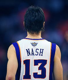 Steve Nash. Billy wants our little boy's middle name to be Nash... After him.