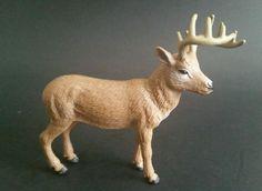 """Tree House Kids Brown Deer Toy 3.75"""" Cabelas Play Set Buck Figure #TreeHouseKids"""