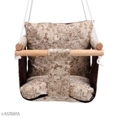 Others Baby Swing  Material: Wooden Frame Size (L x W x H ): 35 in x 35 in x 6 in   Description: It Has 1 Piece Of Hanging Swing Chair Country of Origin: India Sizes Available: Free Size *Proof of Safe Delivery! Click to know on Safety Standards of Delivery Partners- https://ltl.sh/y_nZrAV3  Catalog Rating: ★4.2 (5650)  Catalog Name: Unique Hanging Swing Chair Vol 2 CatalogID_922730 C63-SC1325 Code: 956-6072206-