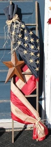 American Flag Ladder @ Home Ideas and Designs