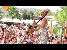 Lovely Laura @ Ocean Beach, Ibiza, every Monday | 2015 Saxophone