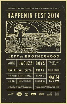 Happenin Fest 2014: JEFF the Brotherhood, Jacuzzi Boys, more at Birmingham's Good People Brewing Co.
