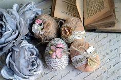Inspirace - velikonoční vajíčka Straw Bag, Shabby, Easter, Deco, Easter Activities, Decor, Deko, Decorating, Decoration