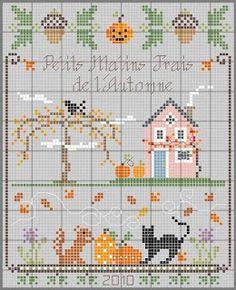 Une grille d'automne - an autumn chart by Mirabilys Quelquepart