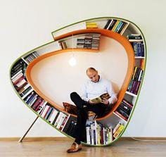 Bookworm by Atelier 010 - interesting shape
