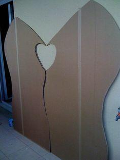 Réalisation d\'une Tête de lit en Carton. | Mes creations en Carton ...
