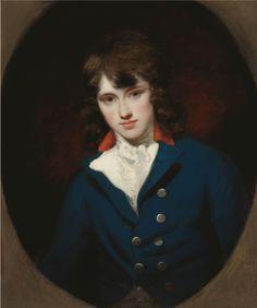 Portrait of William Locke aged seventeen, John Hoppner. English Neoclassical Painter (1758-1810)