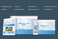 Belief Bootstrap Responsive Theme by IceTemplates on Creative Market