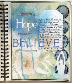 I sometimes find it hard to believe (art journal) by glenda tkalac, via Flickr