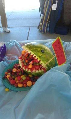 Pirate party Shark-LOL  Sophia would love this~!