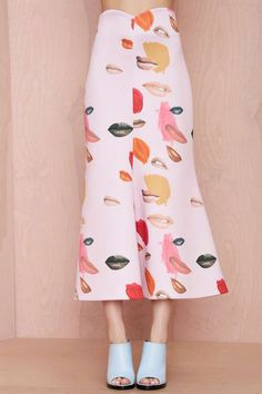 Alice McCall She Has Funny Cars Neoprene Skirt - Skirts | Clothes | All | Alice McCall | Scuba | Alice McCall