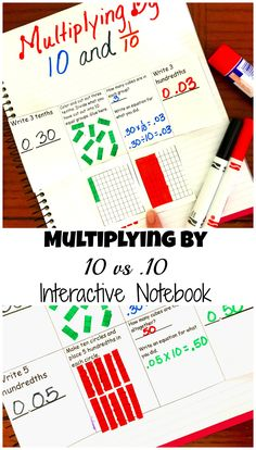 How to Teach Finding Digit Values with Decimals - Free Interactive Notebook