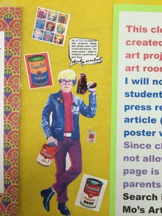 Andy Warhol and a famous quote.