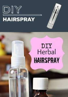 DIY Hairspray | 31 Household Products You'll Never Have To Buy Again