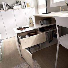 Bauhaus, Home Office, Office Desk, Furniture Ideas, Home Decor, Smoothies, Home Office Design, Office Furniture, Design Offices