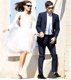 Noiva simples, linda e alegre, pra que mais?