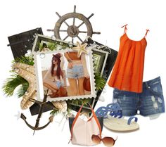 Summer Casual, created by niecey029 on Polyvore