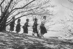 1954 『二十四の瞳』高峰秀子ら