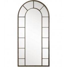 Uttermost - 10505 - Dillingham Black Arch Mirror @ Lamps.com