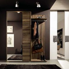 wooden furniture for storage, contemporary entryway decorating ideas