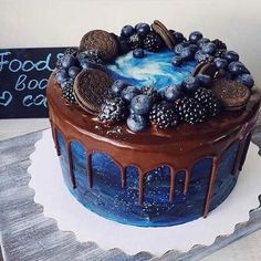 Imagen de food, cake, and chocolate