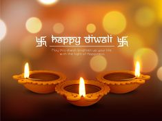 Illustration about Glossy traditional illuminated oil lit lamps on shiny background for Indian Festival of Lights, Happy Diwali celebration. Illustration of card, deepawali, greeting - 61445040