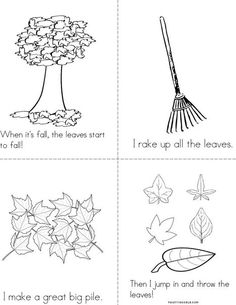 1000 Images About Autumn Coloring Pages Worksheets And Mini Books On Pinterest